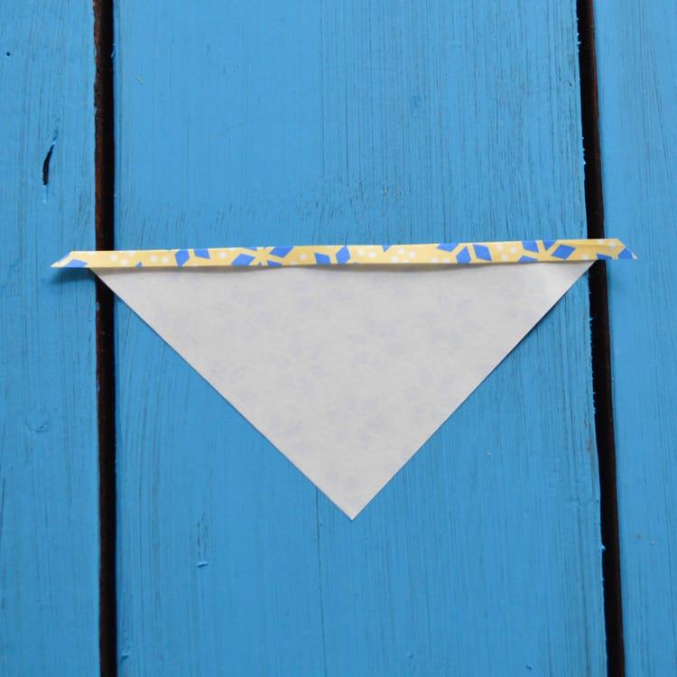 first fold