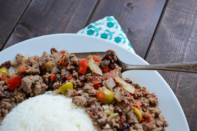 Cuban Picadillo Recipe with Venison