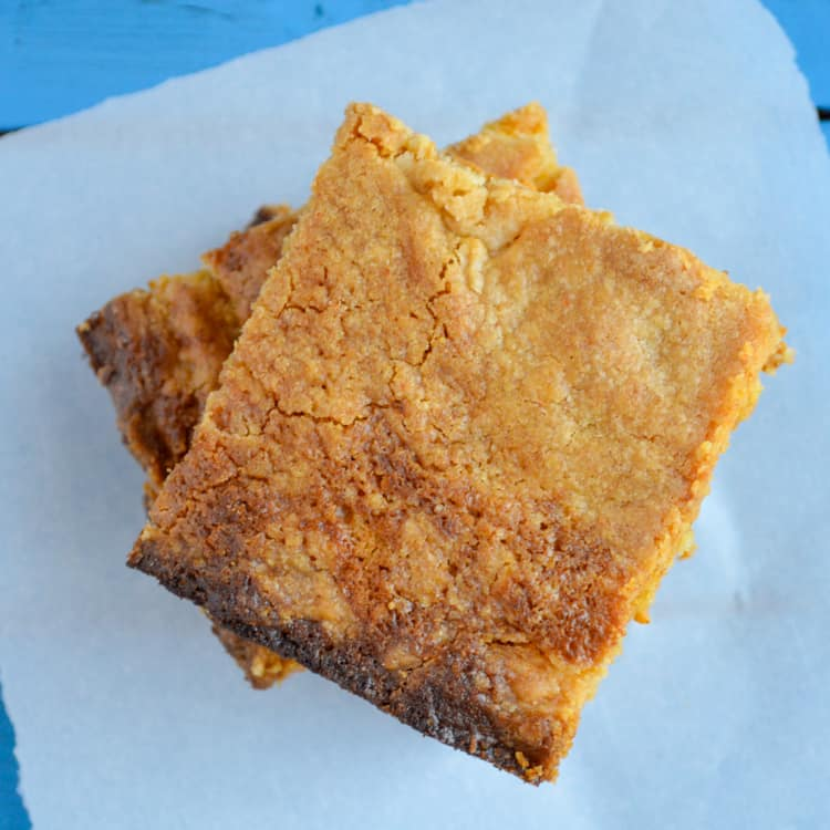 Pumpkin Pie Cake with Greek Yogurt