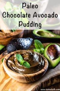 Paleo Chocolate Avocado Pudding Recipe