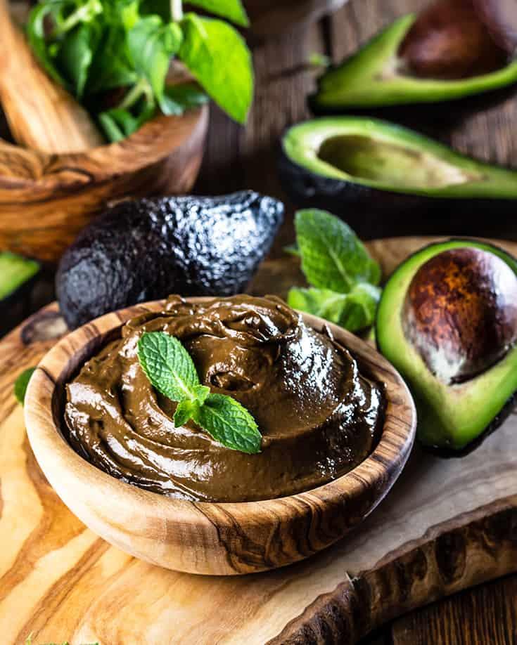 Paleo Avocado Chocolate Pudding