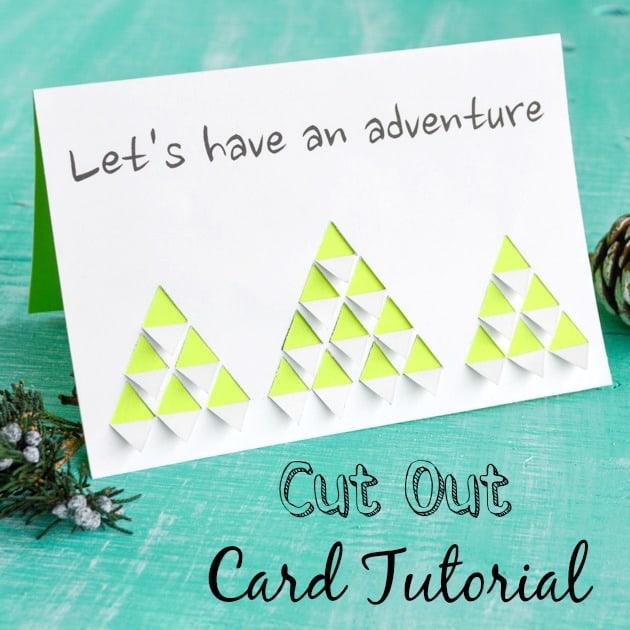 Cut out Card Tutorial w Printable