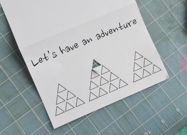 cut triangle