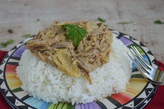 lechon asado with pork tenderloin in the slower cooker