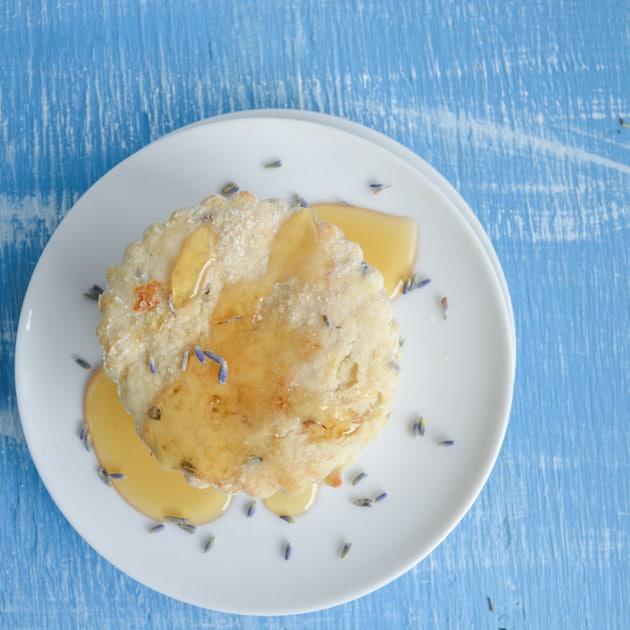 lavender honey scones
