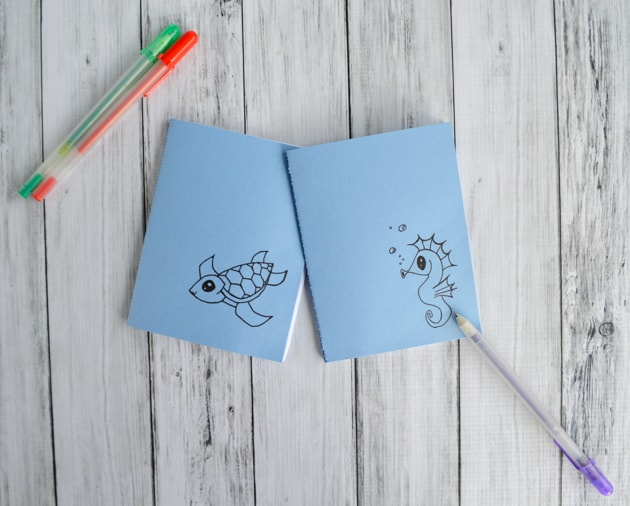 DIY Pocket Notebooks (with Printable!)