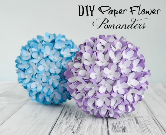 Paper Decoration Balls Delectable How To Make A Paper Flower Pomanderkissing Ball  Diy Wedding Inspiration