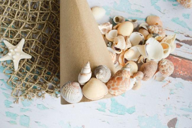 begin gluing shells