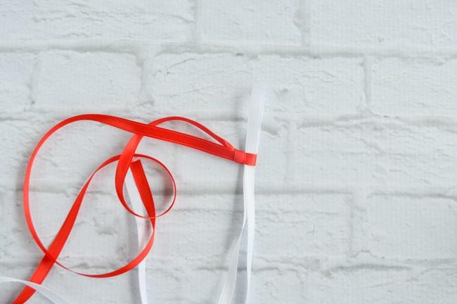 tighten the slip knot