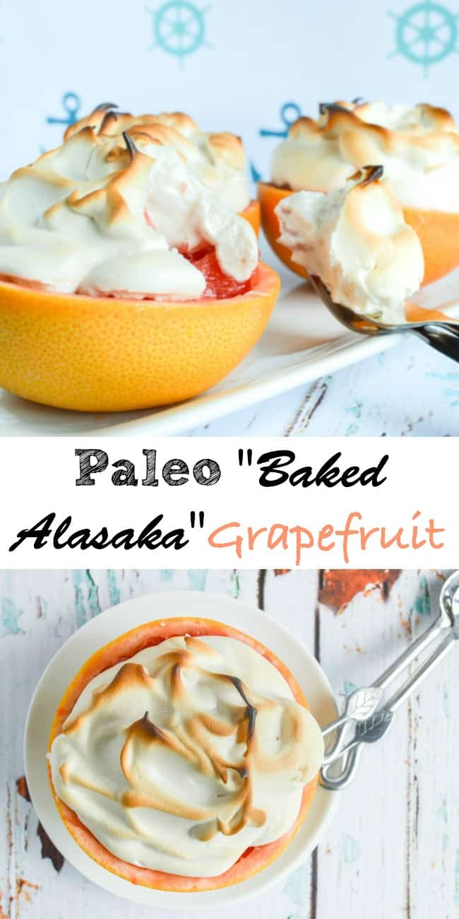 Paleo Baked Alaska Grapefruit Recipe