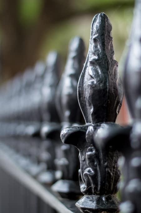 iron fence charleston sc