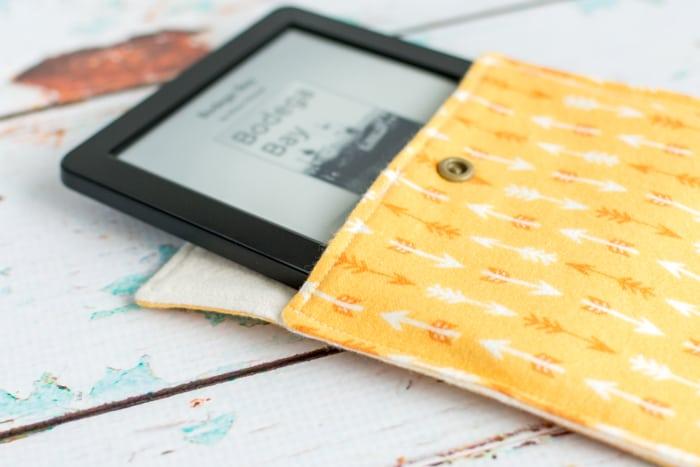 diy envelope-style tablet case