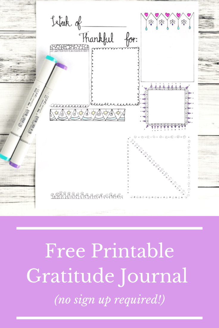 It's just an image of Gorgeous Gratitude Journal Printable