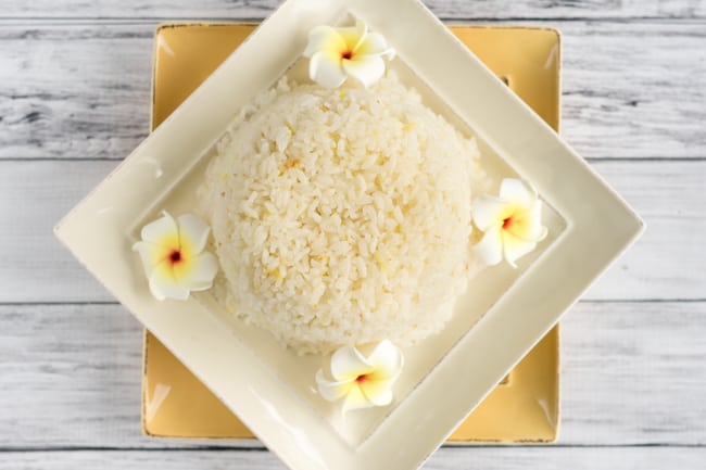 easy ginger rice
