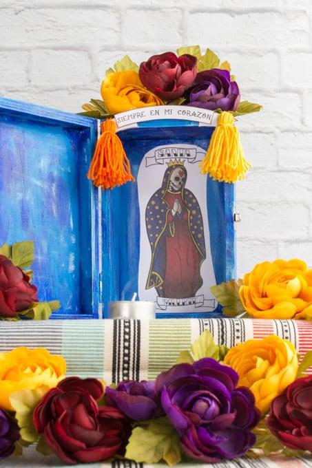 Siempre en mi Corazon Santa Muerte Nicho Tutorial
