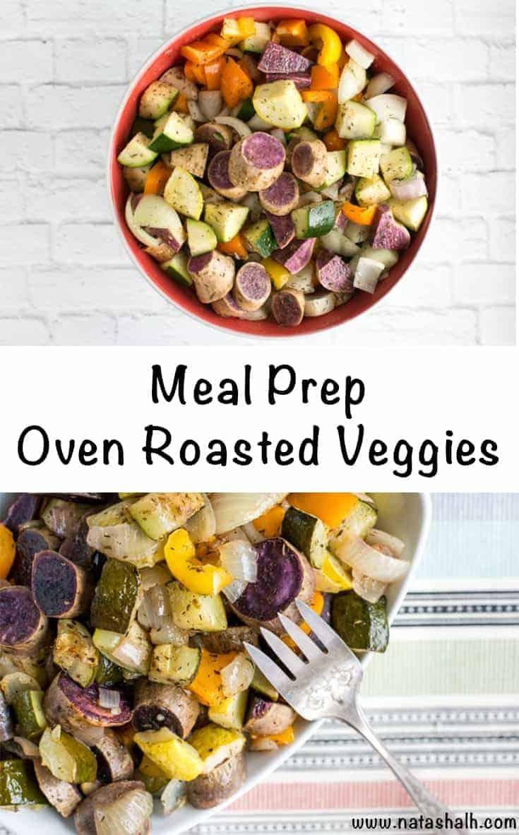 Weekly Meal Prep Oven Roasted Veggies