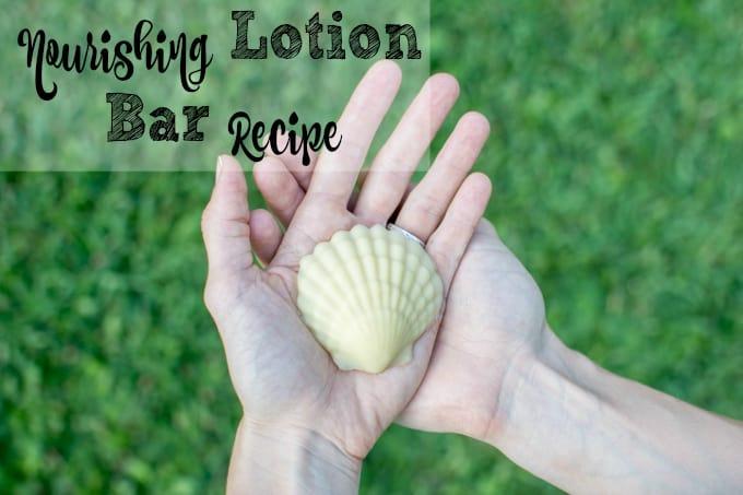 Nourishing Lotion Bar Recipe