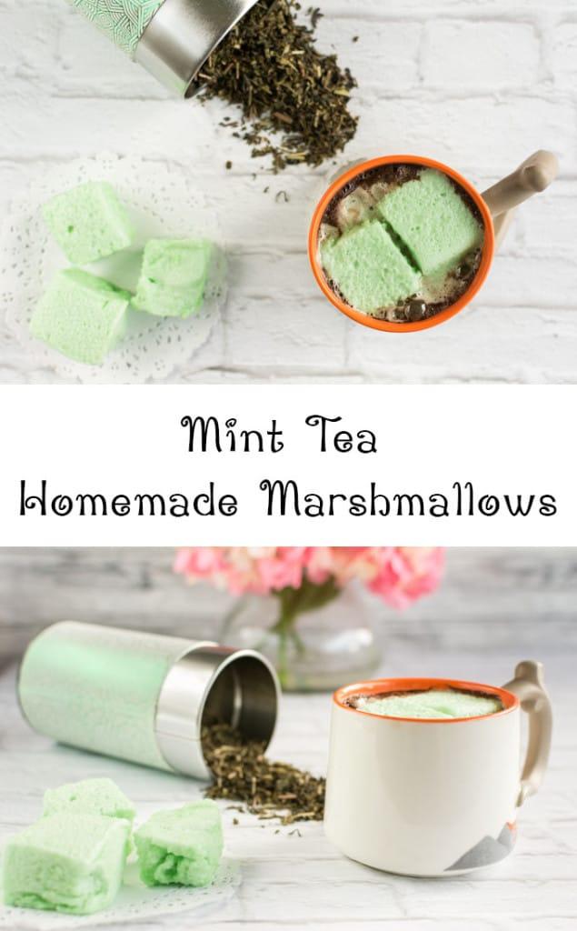 Mint Tea Homemade Marshmallows The Artisan Life