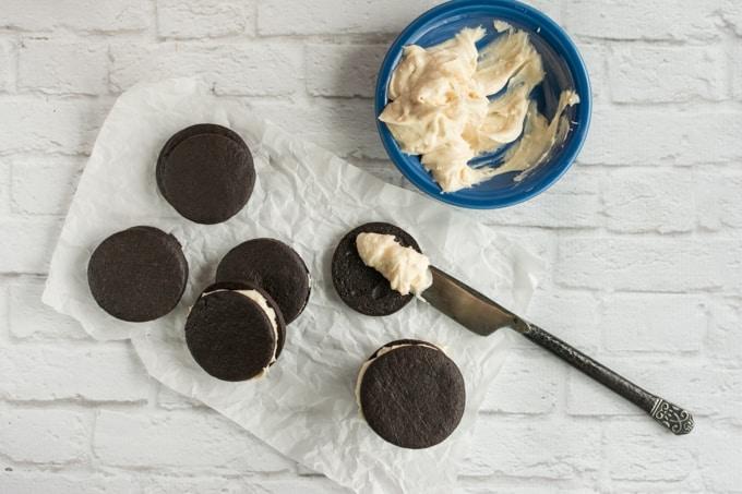 chocolate creme sandwich cookies