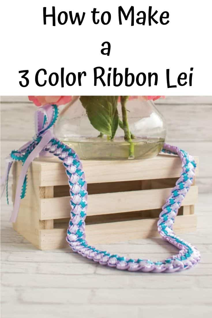 How to Make a Three Color Ribbon Lei