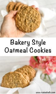 bakery style oatmeal cookies recipes