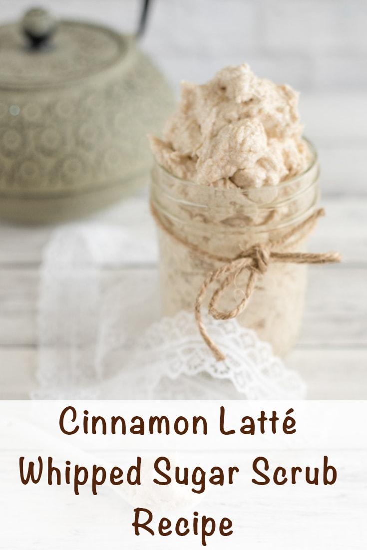 cinnamon latte whipped sugar scrub recipe