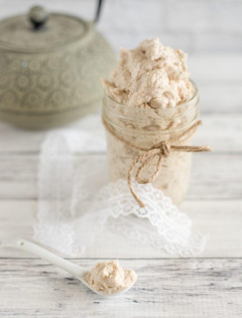 cinnamon latte whipped shea butter sugar scrub recipe recipe