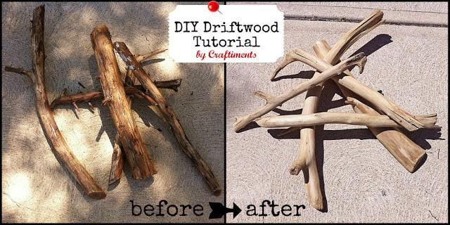DIY driftwood