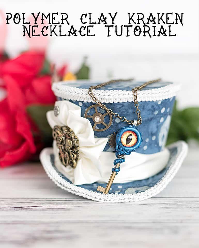 DIY kraken necklace tutorial