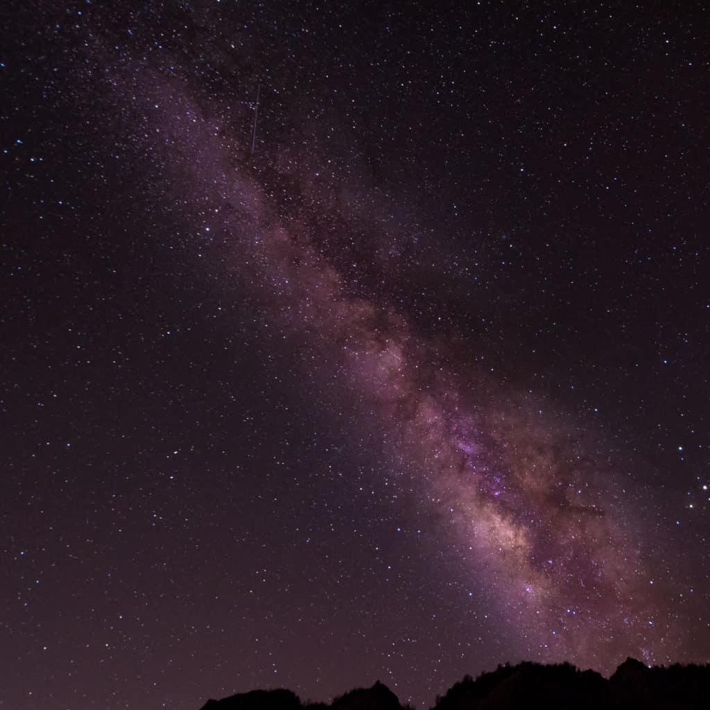 milky way galaxy astro photo from Kaena Point, Hawaii