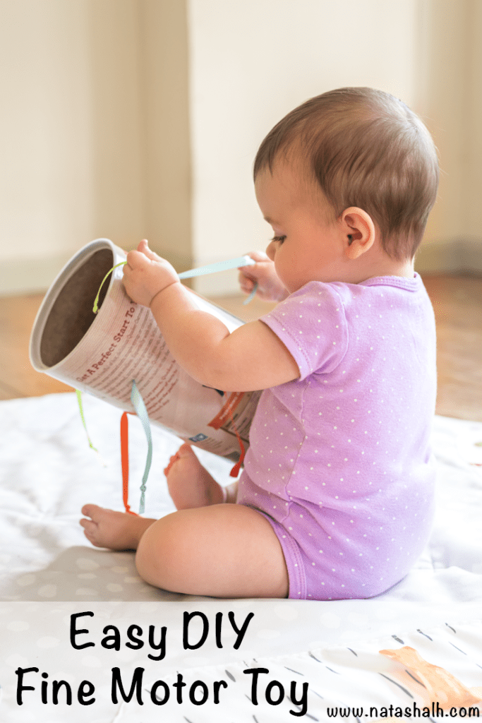 Easy DIY Fine Motor Toy for Babies