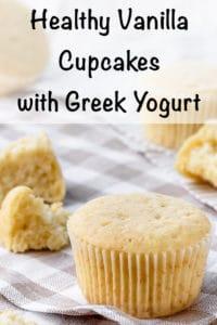 healthy vanilla cupcakes with greek yogurt recipe