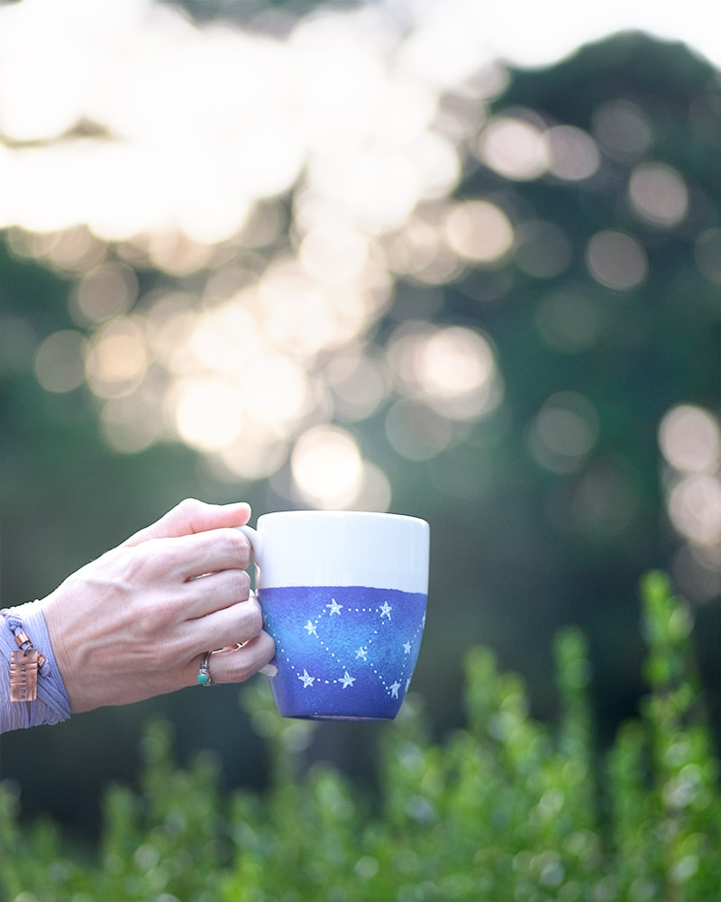 Dishwasher safe galaxy mug tutorial