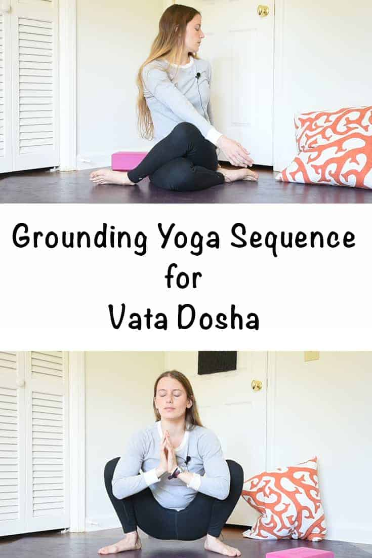 Grounding yoga sequence for fall