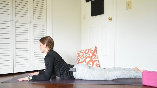 beginner yin yoga sequence spinx pose