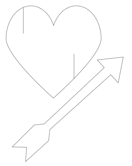 easy printable valentine