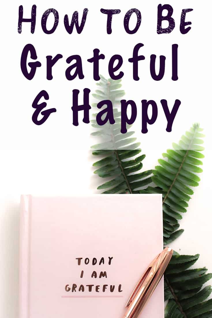 how to be grateful and happy