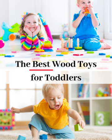 the best wood toys for toddlers