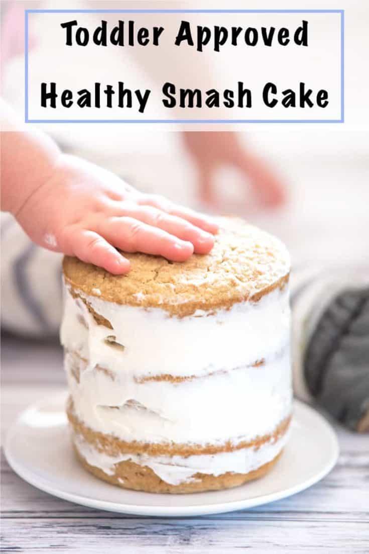 Healthy Smash Cake Recipe - No Added Sugar Gluten Free First Birthday Cake