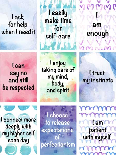 Free Printable Crystal Meaning Cards