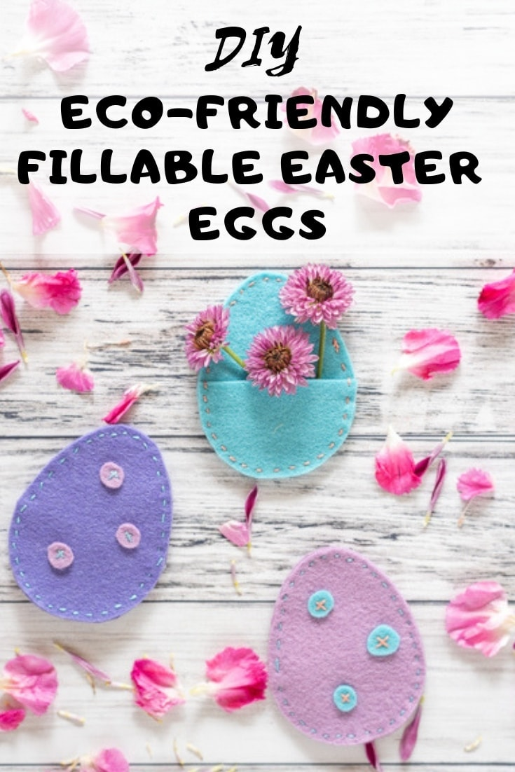 DIY Eco-Friendly fillable easter eggs