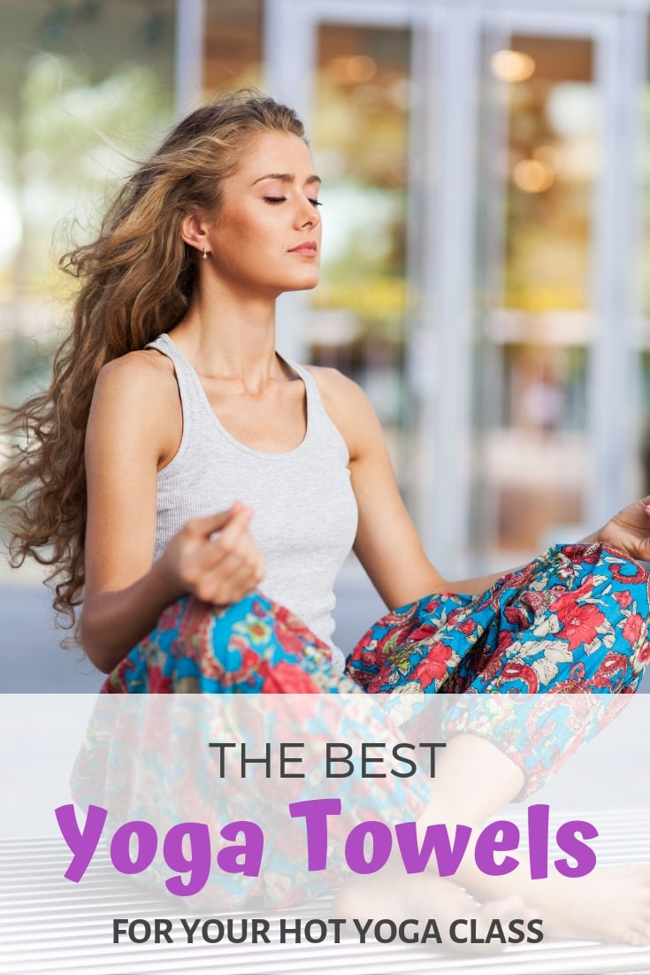 Discover yoga towel recommendations from a yoga teacher! The best yoga towels for your hot yoga class