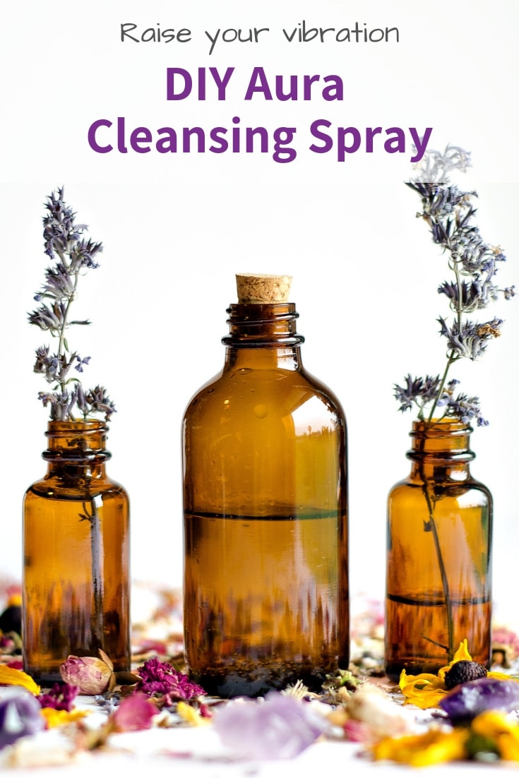Diy Aura Cleansing Spray For Clearing Negative Energy Diy Smokeless Smudge Spray The Artisan Life