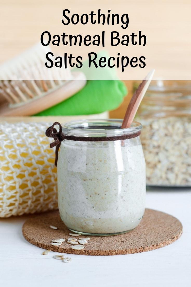 Soothing oatmeal bath salts recipes