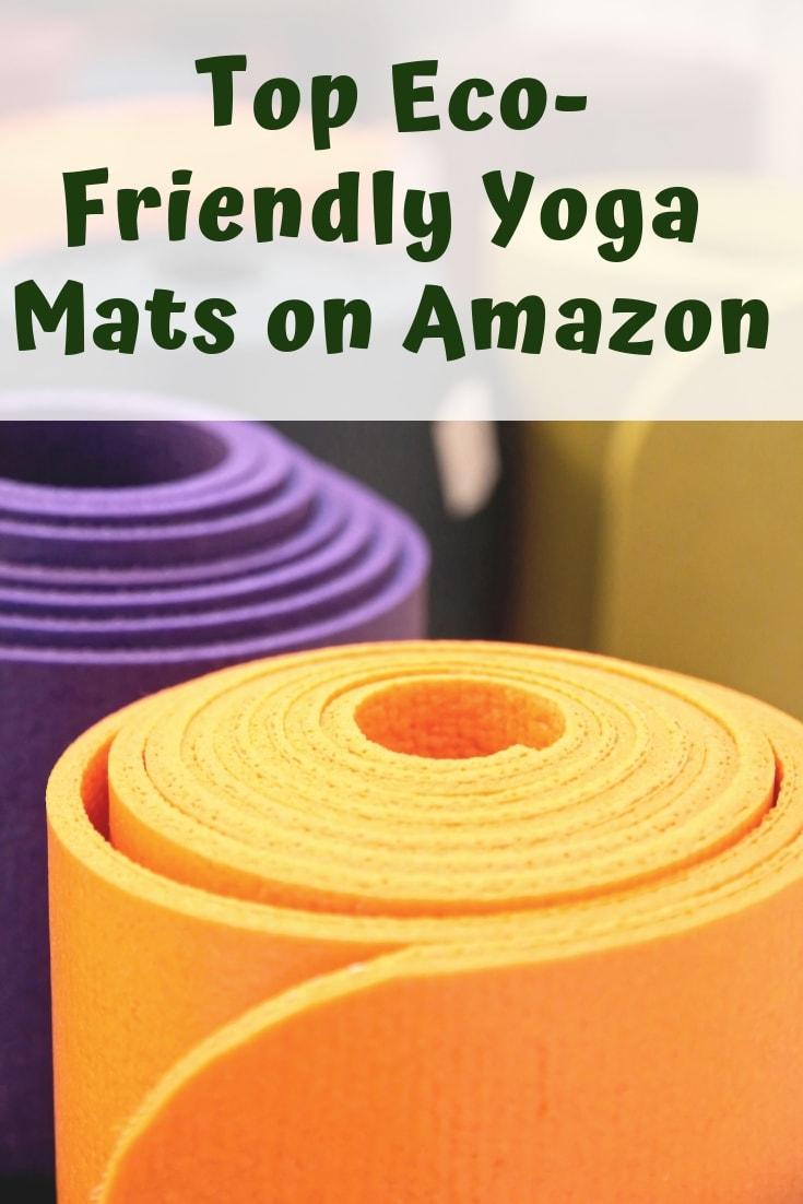 The most eco-friendly yoga mats - including the most affordable eco friendly yoga mat pick! Eco friendly yoga mats on Amazon & natural jute yoga mats. #ecofriendly #bestyogamat #juteyogamat #zerowasteyogamat