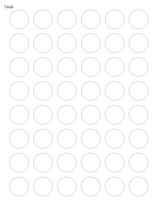 "1"" printable circle template"