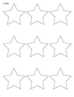 2.5-inch-star-pattern