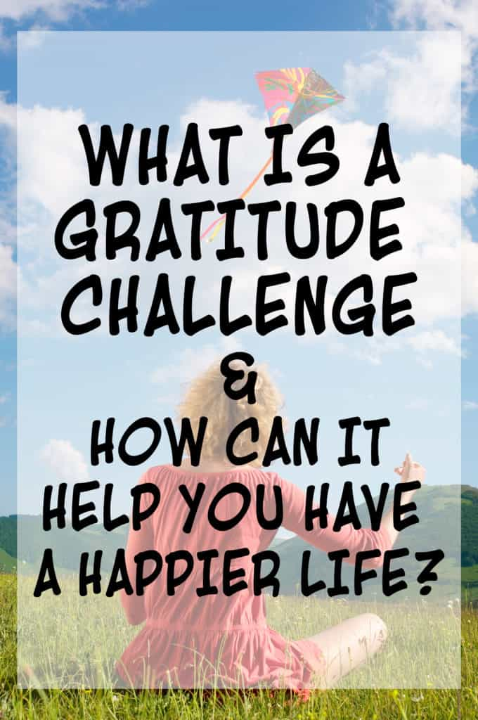 What is a gratitude challenge?