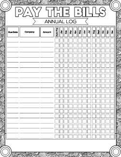 annual-bill-pay-log-with-coloring-page