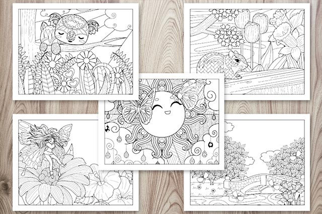 21+ Spring Coloring Pages - Free Printable Spring Adult Coloring Pages -  The Artisan Life